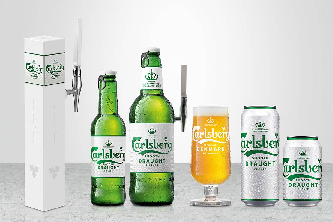Carlsberg Smooth Draught now on taps