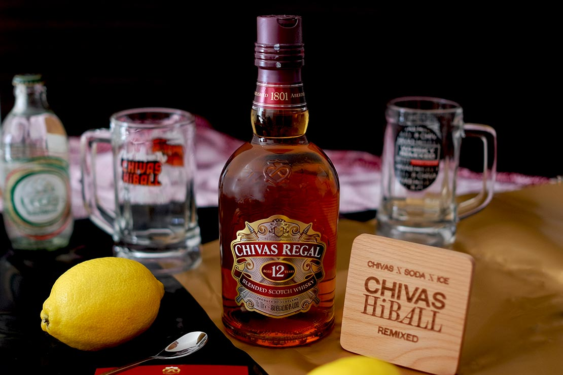 Chivas HiBall campaign aims its Hi-Lo aesthetic concept at drinkers