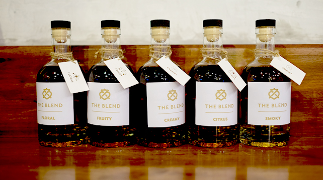 How do you blend a whisky?