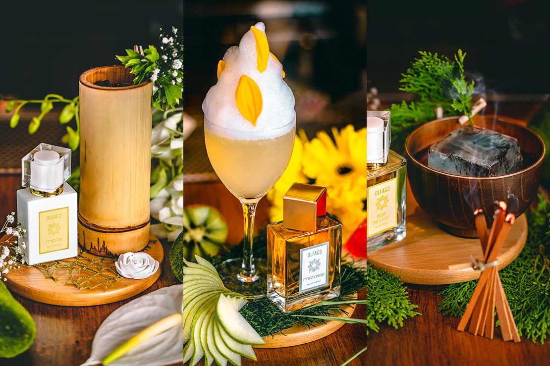 Perfumed cocktail series