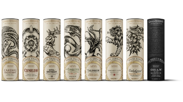 Whisky is Here – the Game of Thrones limited edition collection from Diageo is in Malaysia.