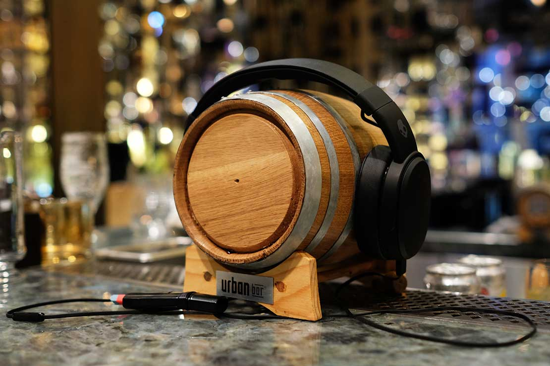 Let your liquid listen to the music