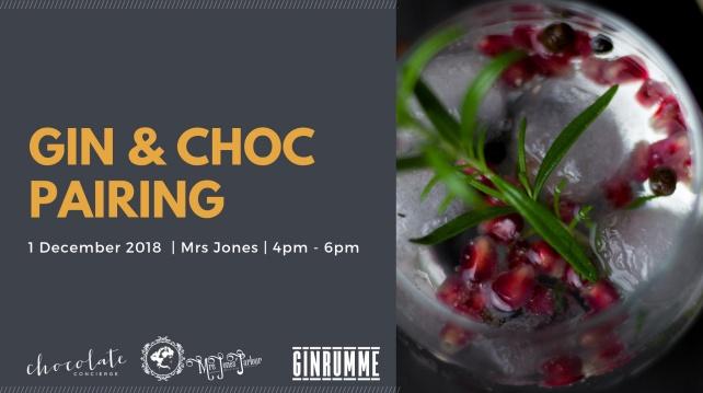 Gin and Chocolate Pairing