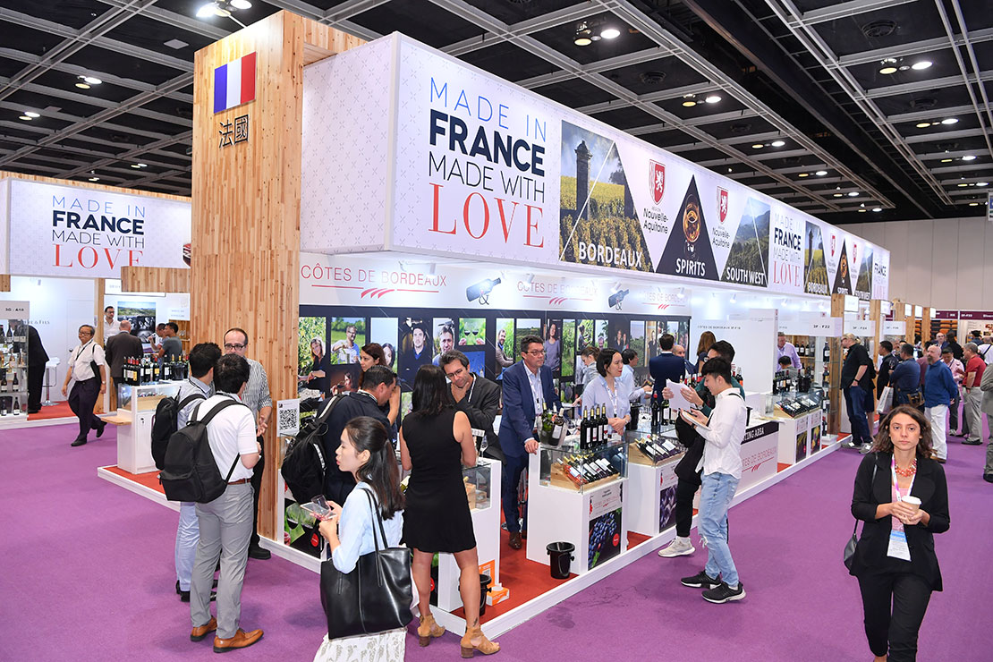 Out and about at the Hong Kong International Wine and Spirits Fair 2019