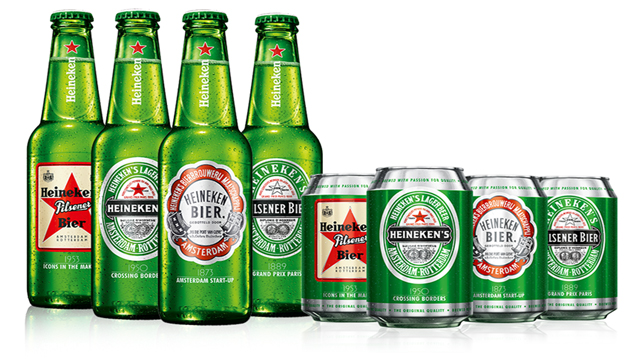 Heineken releases four limited-edition bottles and cans