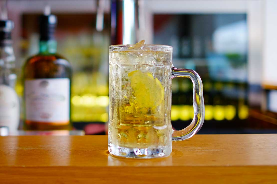 Whisky Highball, a two-ingredient drink that's been made a craft in Japan