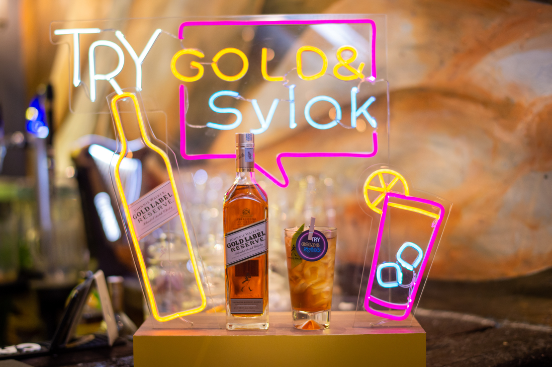 Drink local – Johnnie Walker Gold& Syiok