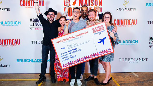 La Maison Cointreau 2018 Winners announced