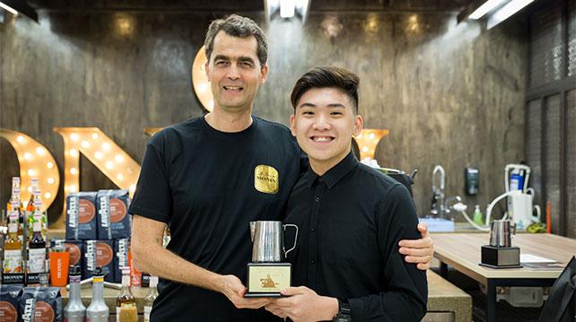 MONIN Coffee Creativity Cup 2017