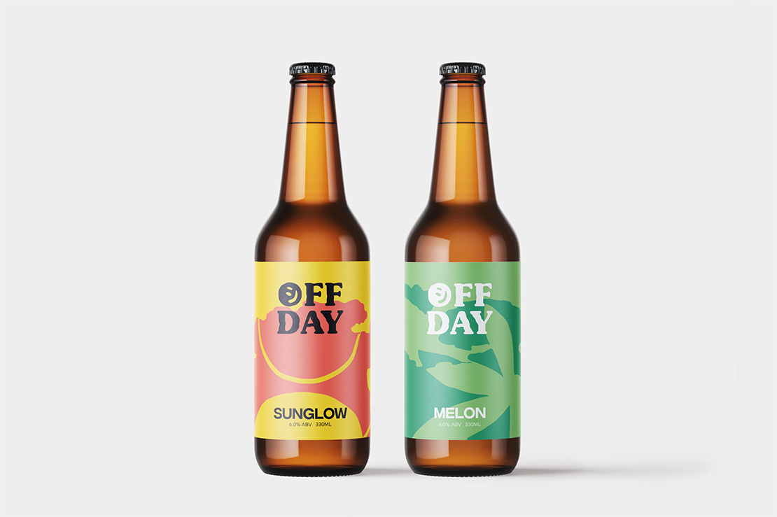 Off Day Beer take you on a vacation with their new tropical seasonals