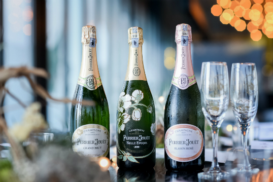 Perrier-Jouët champagne partners with Babe by Chef Ramsey for an unmissable dinner series