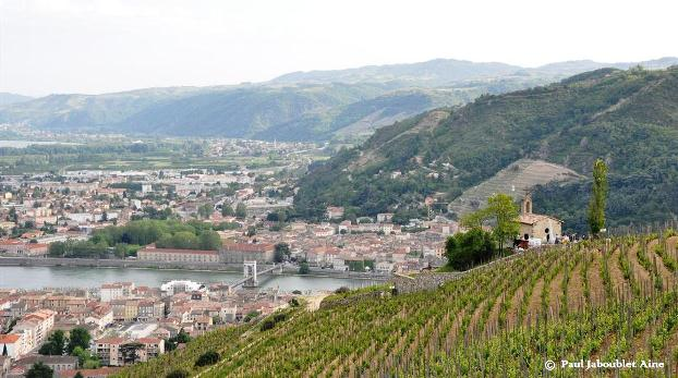 When in Rhone or wherever there