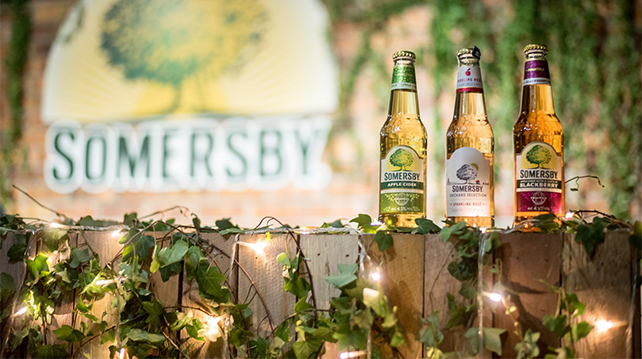 Somersby celebrates summertime with a month-long campaign