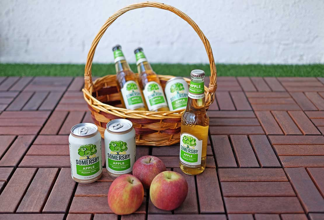 Throw a (house) party with Somersby this Apple Day