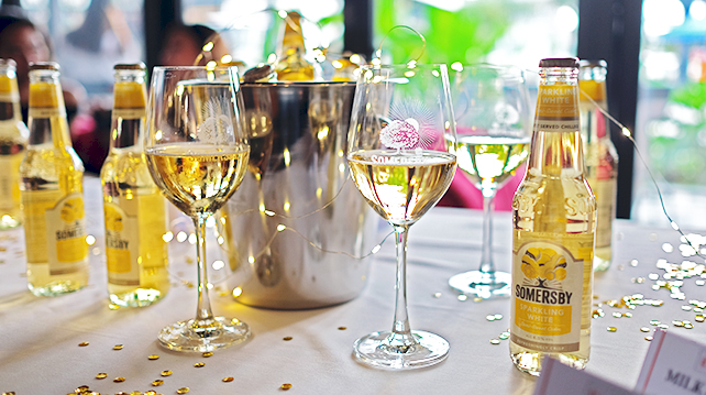 Dine with Somersby Sparkling White