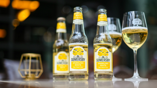 Somersby Sparkling White cider launched in Malaysia
