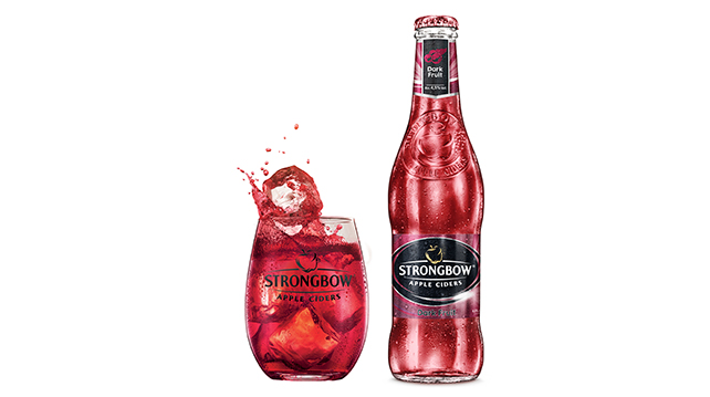 Strongbow Cider new addition in red