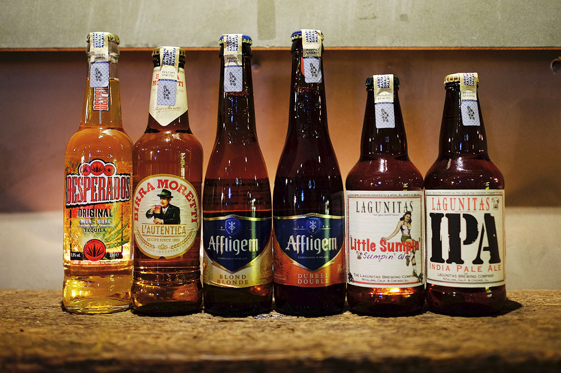 Take a look at these new beers imported by Tong Woh
