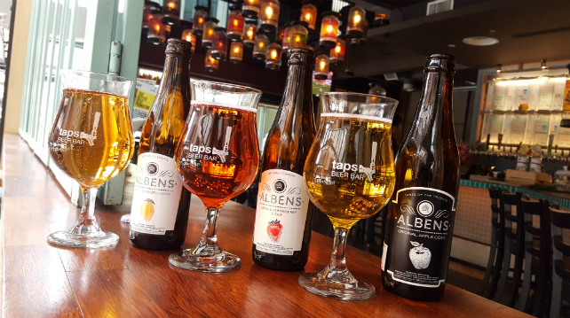 Albens Cider is back at Taps