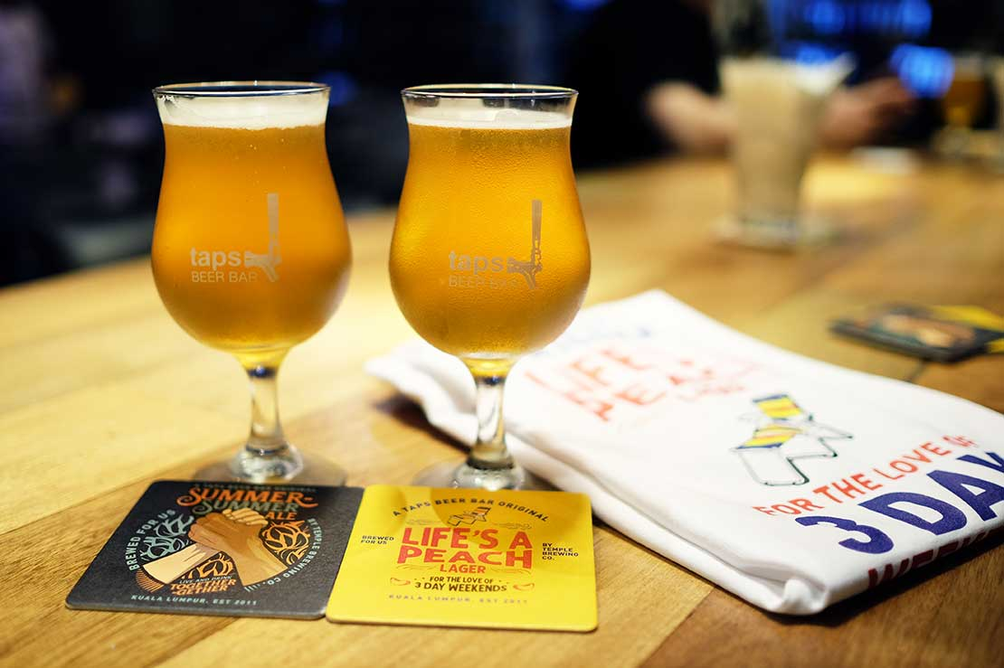 Two craft beers made just for Malaysians