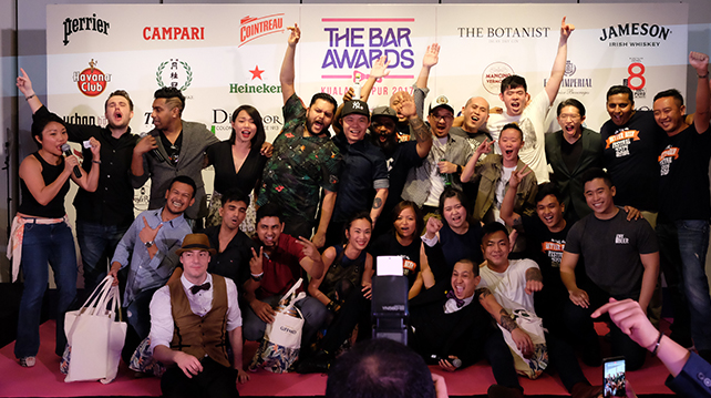 KL Bar Awards Top 10 Rankings