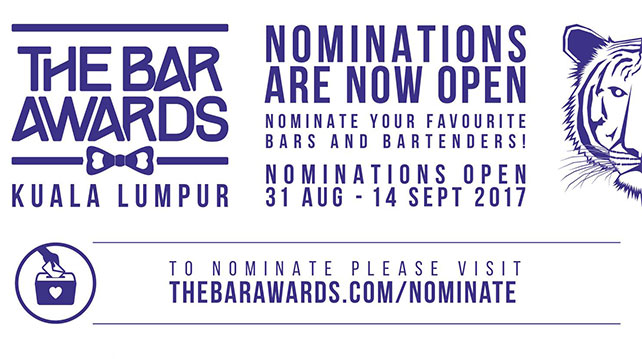 Nominate your best KL F&B outlets and personalities before 14 September 2017