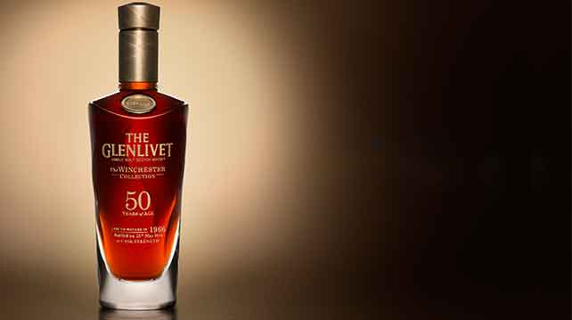 The Glenlivet Winchester Vintage 1966 in Malaysia for auction