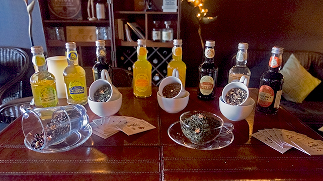 Tea Cocktails at 61 Monarchy