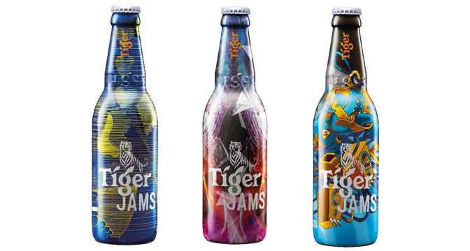 Tiger Jams limited edition bottles
