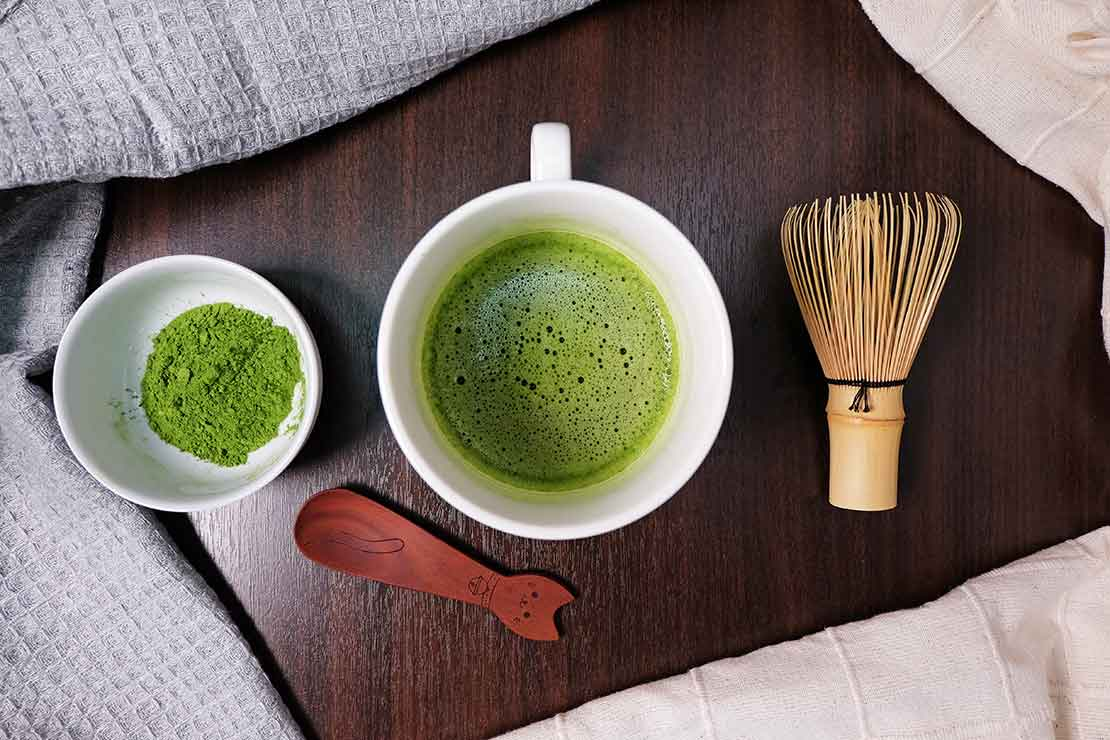 Why drink Japanese green tea?