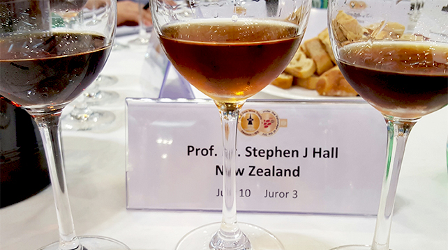 How wines are judged