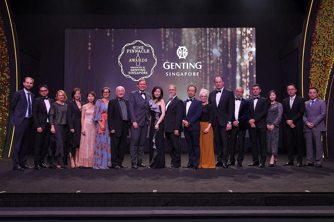 The inaugural Wine Pinnacle Awards winners announced