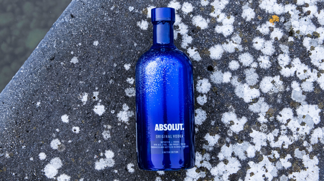 Absolut reveals new limited-edition bottle design