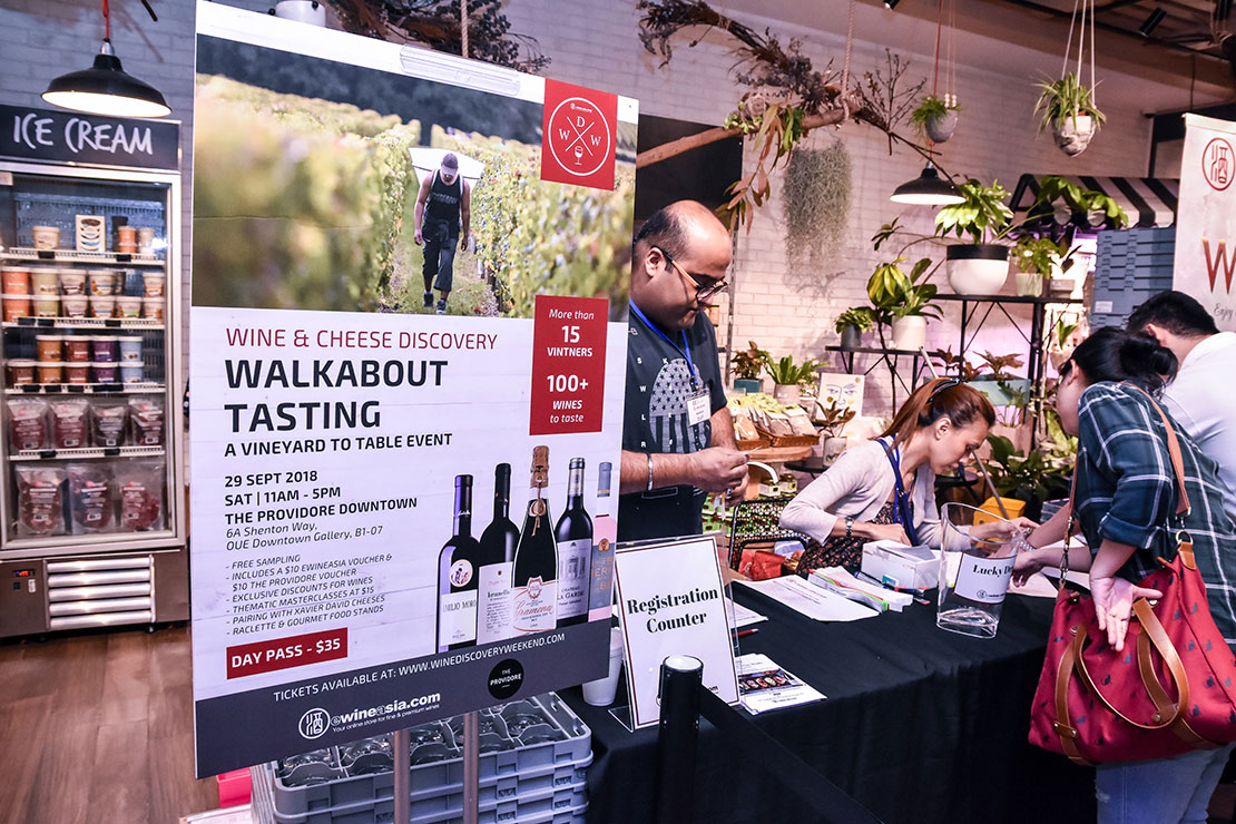 The Wine Discovery Walkabout Tasting 2019