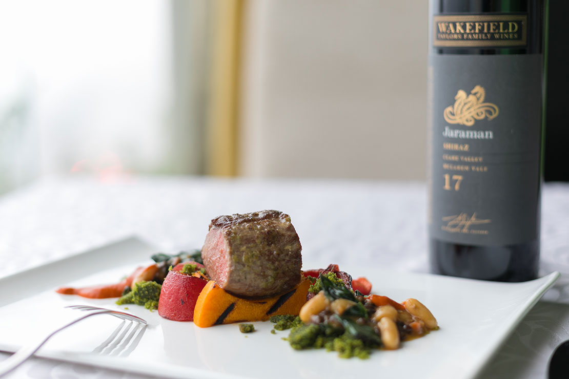 Wakefields Taylors Family Wines Pairing Dinner