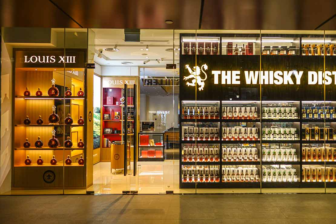 Louis XIII Cognac set up shop within The Whisky Distillery One Raffles Place