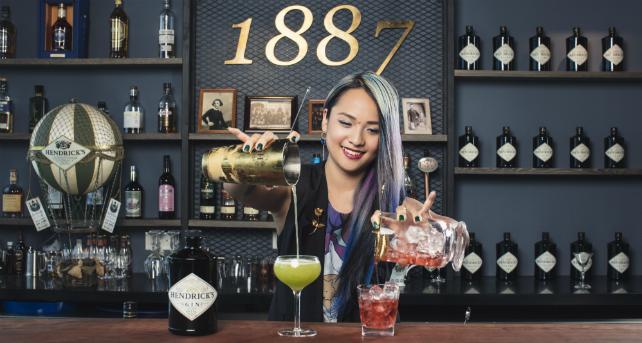 Charmaine Thio is Hendrick's new brand ambassador